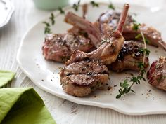 Grilled Lamb Chops Recipe : Giada De Laurentiis : Food Network - FoodNetwork.com
