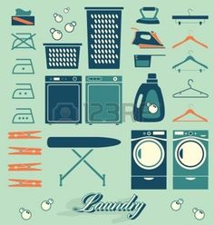 Vector labels set Lavander�a Retro e Iconos photo