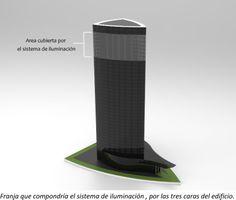 Proyecto iluminación Torre Iberdrola