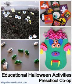 Halloween craftivities