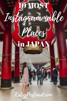 Japan is probably the most photogenic county I have ever been to. Almost every corner asks for a photo, no matter if you wander through the buzzing streets of Tokyo or you are enjoying the tranquility of traditional Japan in Kyoto. To help you find the best of them, I have put together my list of the 10 most instagrammable places in Japan. Keywords: Photography; instagram worthy; photo spots; beautiful