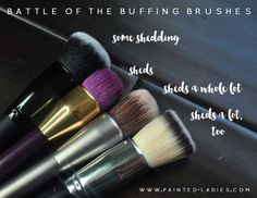 e.l.f. Studio Ultimate Blending Brush Review and comparison with Urban Decay, Sonia Kashuk, and Coastal Scents buffing brushes.