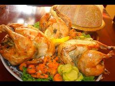 الدجاج مبخر على الطريقة المكناسية بحشوة البقدونسPoulet Marocain à la vapeur - YouTube