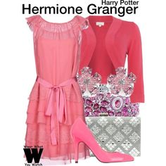 Inspired by Emma Watson as Hermione Granger in the Harry Potter film franchise.