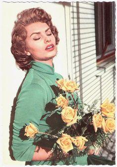 Sophia Loren.  Gorgeous!