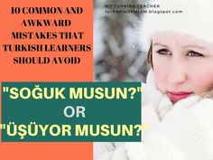 10 COMMON AND AWKWARD MISTAKES THAT TURKISH LEARNERS SHOULD AVOID Learn Turkish, Awkward, Mistakes, Teacher, Learning, Professor, Studying, Teaching