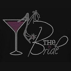Bride -  Champagne Glasses & High Heel Shoe