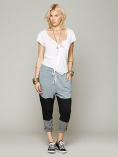 Free People Colorblocked Wing Pant at Free People Clothing Boutique