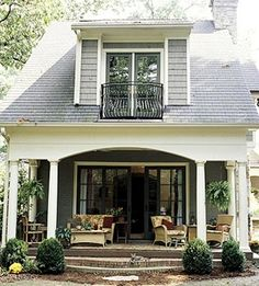 Backyard - covered deck, love the upstairs patio doors with the metal fencing/guard, adds more light and a beautiful breeze in the Summer.