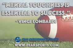 Visit Peaksports.com for tips and strategies to improve your mental game!