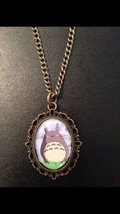 £4.99 Bronze Charm Necklace Pendant Studio Ghibli My Neighbour Totoro Cute Anime
