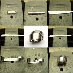exclusive jewelry collection by Cardillac - making of a ring :enbyln-entrenous by LE NOEUD