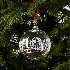 John Lewis Skyline Bauble #johnlewisedit #copenhagen