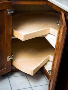 Inspiring Corner Kitchen Cabinet Storage Ideas – Decorating Ideas - Home Decor Ideas and Tips