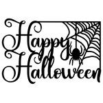 Silhouette Design Store: Happy Halloween With Bats Halloween Stencils, Halloween Vinyl, Halloween Fonts, Halloween Silhouettes, Halloween Clipart, Theme Halloween, Halloween Signs, Halloween Cards, Halloween Templates