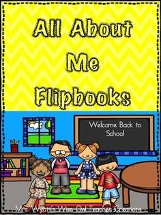 All About Me Flip BookThis is a great flip book to use at the beginning of the school year to get to know your students.There are two versions of the flip book in this product: large flip book and smaller 2 flip books.