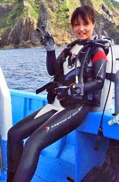 Mermaid Cove, Scuba Girl, Womens Wetsuit, Catsuit, Snorkeling, Scuba Diving, Surfing, Japanese, Suits
