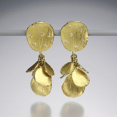 Quadrum - Hydrangea Cluster Earrings/b.heinrich