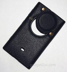 Leather Lichee Pattern Black Nokia Lumia 1020