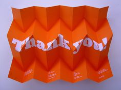 Thank you! by Sumo Design, via Flickr
