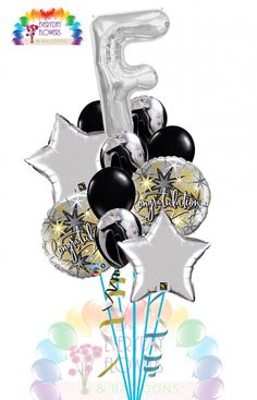 LETTER CONGRATULATION BALLOON BOUQUET Everyday Flowers and Balloons