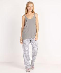 Ecru cashmere pants - OYSHO 100% cotton 17.99 €