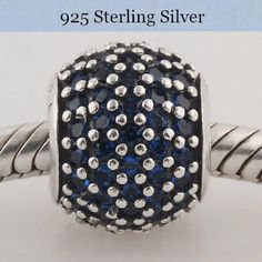 Sterling Silver 3D Babys First Christmas Or Baby New Year Dangle Charm Bead For Bead Charm Bracelet