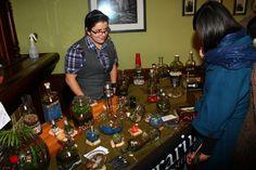 Tina with B3 Terrariums explaining her methods. Photo by Ehi Ayoko