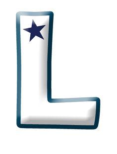 LETRAS PARA IMPRIMIR DE ESTRELLAS Alphabet And Numbers, Alphabet Letters, Stencils, Symbols, Lettering, Stars, Red, Crafts, Gifs