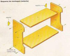 Proyek Dewan Dan Rak Kayu Lapis - Bagian 6 - Bookshelf - Bengkel