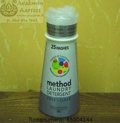 Free + Clear (hajustamaton) Method Laundry Detergent, Free