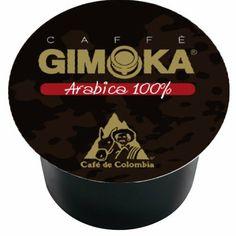 Gimoka Espresso Capsules Compatible Lavazza BLUE System,100% Arabica, 100 count pack - http://hotcoffeepods.com/gimoka-espresso-capsules-compatible-lavazza-blue-system100-arabica-100-count-pack/