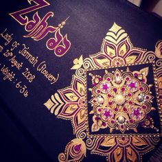 A Bespoke Canvas made for a Mendhi Event.  #indianwedding #wedding #favours #favors #weddingfavours #mendhi #bespoke #design #calligraphy #candle #candles #gifts #shaadi #walima #nikah #celebrating #graduation #family #handmade #weddinggifts #desi #canvas #art #mirror #decorative #red #gold #silver #black #green #white #blue