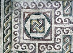 Roman Mosaic: National Museum, Rome by ortygia, via Flickr