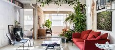 Eclectic Apartment Showcases Collector's Artifacts