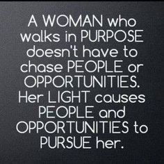 walks in purpose