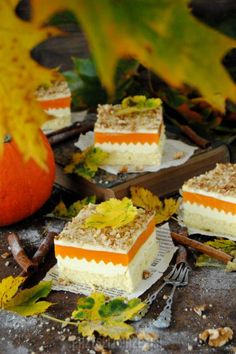 Czekoladowy dyniowiec Mango, Cheesecake, Pasta, Food, Desserts, Backen, Manga, Meal, Cheese Cakes