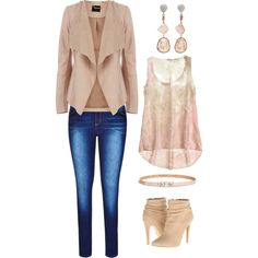 Casual wear by gerlinda8 on Polyvore featuring polyvore, fashion, style, Oasis, Michael Antonio, Jordan Alexander and Maison Boinet