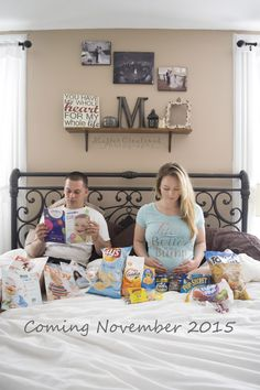 Cute/funny way to announce your pregnancy Pregnancy Announcement https://www.facebook.com/Mastercreationsbytiffany?ref=hl