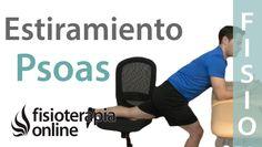 Estiramiento del psoas-iliaco para el dolor de espalda/lumbar