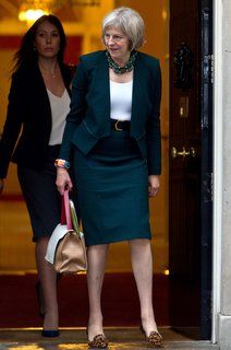 Britain's New Prime Minister, Theresa May, Is a Fashion Fan - Vogue