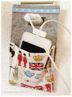 HandyHalter * Ladestation * London  * von eingemachtes.dawanda.com