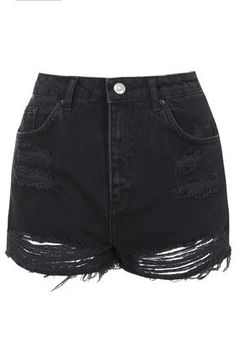 Tap into the ripped denim trend this Halloween with our black ripped jean shorts.