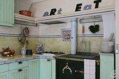 Soluzioni :: Cucine, country su base Ikea kitchen ideas green kitchen pastel country kitchen Ikea hacks hackers hack