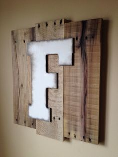 Customizable Wall Decor letter Art using by ReformedByLeviathan