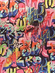 Tag You're It – Alexander Henry Fabric – Graffiti, Street Art ( Yard or Half Yard ) - Moyiki Sites Hip Hop Graffiti, New York Graffiti, Graffiti Wall Art, Graffiti Wallpaper, Graffiti Artists, Graffiti Words, Graffiti Pictures, Graffiti Tattoo, Graffiti Lettering