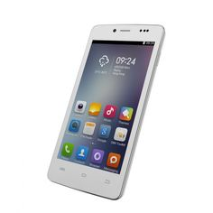 "Cubot P10 Smart Phone Android 4.2 MTK6572 Dual Core 5"" Screen 1GB RAM 8GB ROM 5MP 8MP Dual Cameras White"