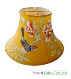 chinoiserie lamp shade - sigh