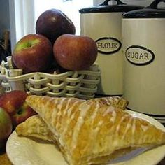 Going to change this up a bit with Apple Juice concentrate & raw sugar ....Apple Turnovers Allrecipes.com