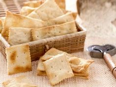 Homemade Saltine Crackers-definitely will be using this recipe a bunch!